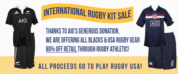 We're offering All Blacks and USA Rugby gear for 80% off retail. Buy yours from https://shop.rugbyathletic.com/collections/play-rugby-usa-aig
